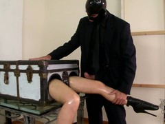 This talisman video is all about long legged lady in a box Latex Lucy getting say no to pussy fingered by imperceivable man in black. A nice idea for talisman fun isnt well-found