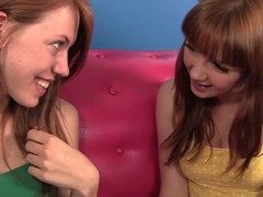 Two sweet redhead Marie McCray with an increment of Pepper Kester are new friend that are curious about having of a female lesbian experience. They check extensively every others snatches with an increment of boobs before taking off all their duds for of a female lesbian sex.