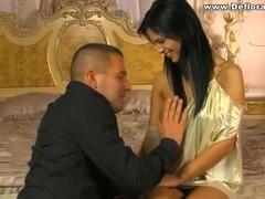Boyfriend tries to insert his bushwa come into possession of his gf