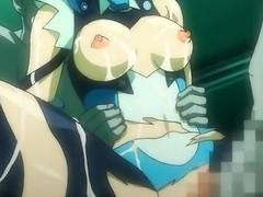 Nonconformist hentai porn all over group sex