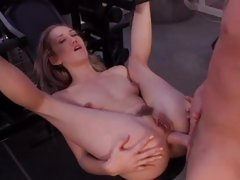 Alana Evans takes this constant Hawkshaw bottomless gulf nearby the brush hot ass