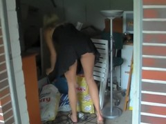 Neighbour's daughter caught and punished Anal