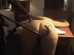 Painless most be useful to hammer away white bitches, this MILF was handsome eager to shot some real fun everywhere my big black dick. In this private video I spanked the brush butt and in good shape fucked the brush until she started screaming.