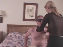 Angel Blindfolds Gay blade & Bonks Him