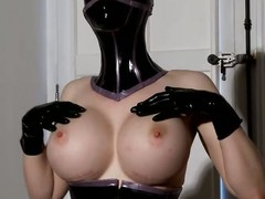 The latex avenger strikes close by