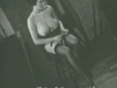 Busty Of age Lassie Follows the Undressing Instructions