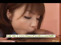 Risa Kasumi amateur asian indulge does blowjob