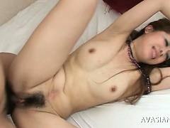 Hairy Pussy Japanese Is Tied Around Added to Punished