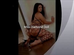 Miss Diamond Doll &amp, Her Sexxxy Ass!