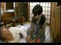 Japanese Really Old Guy With Really Young Girl Uncensored