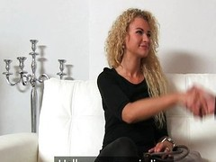 Castingxxx Crumbly blonde sexual connection goddess