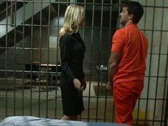 Conjugal Visit with a Horny MILF