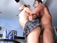 Alyssa Branch warms Nacho Vidal with before dick sucking
