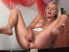 Festival masturbating and pissing in solo porn