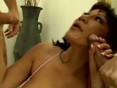 Ava devine gets banged from both ends
